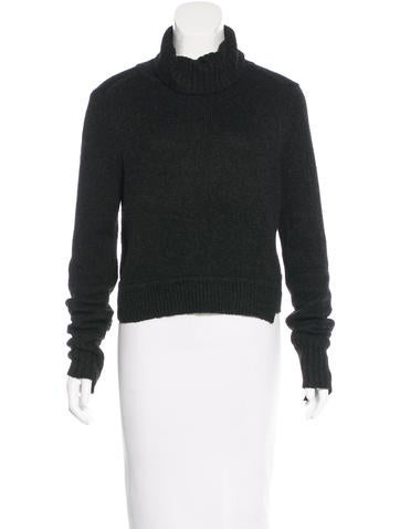 A.L.C. Rib Knit Turtleneck Sweater None