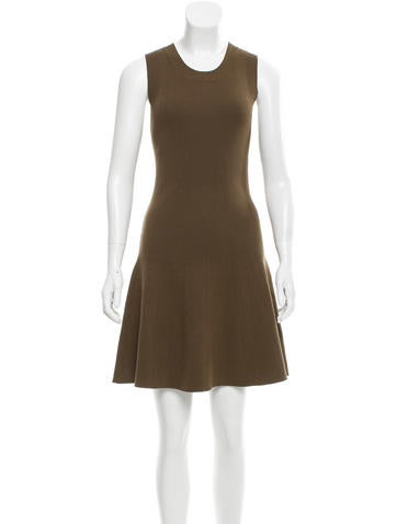 A.L.C. Rib Knit Flare Dress w/ Tags None