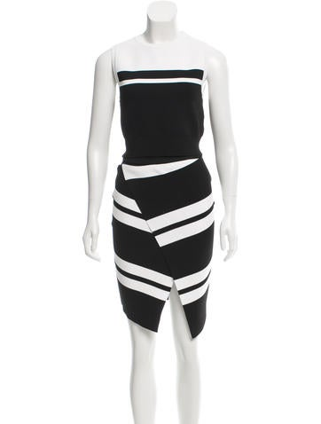A.L.C. Color Block Skirt Set None