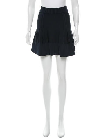 A.L.C. Flared Mini Skirt None