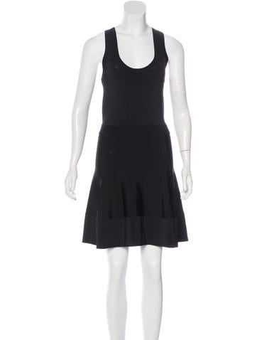 A.L.C. Sleeveless A-Line Dress None