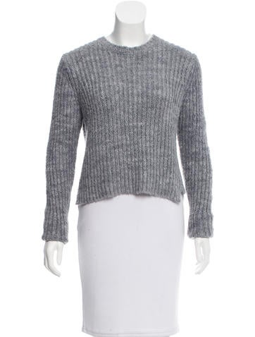A.L.C. Silk Rib Knit Sweater None