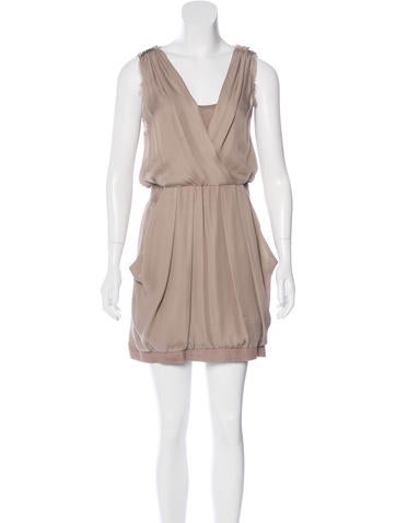 A.L.C. Silk Mini Dress None