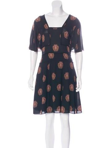 A.L.C. Silk A-Line Dress
