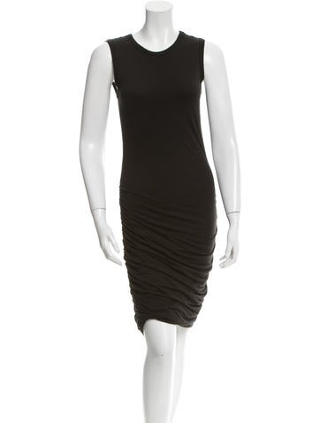 A.L.C. Ruched Knit Dress None