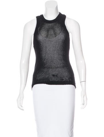A.L.C. Knit Sleeveless Top None
