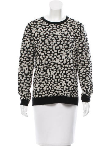 A.L.C. Patterned Wool Sweater None