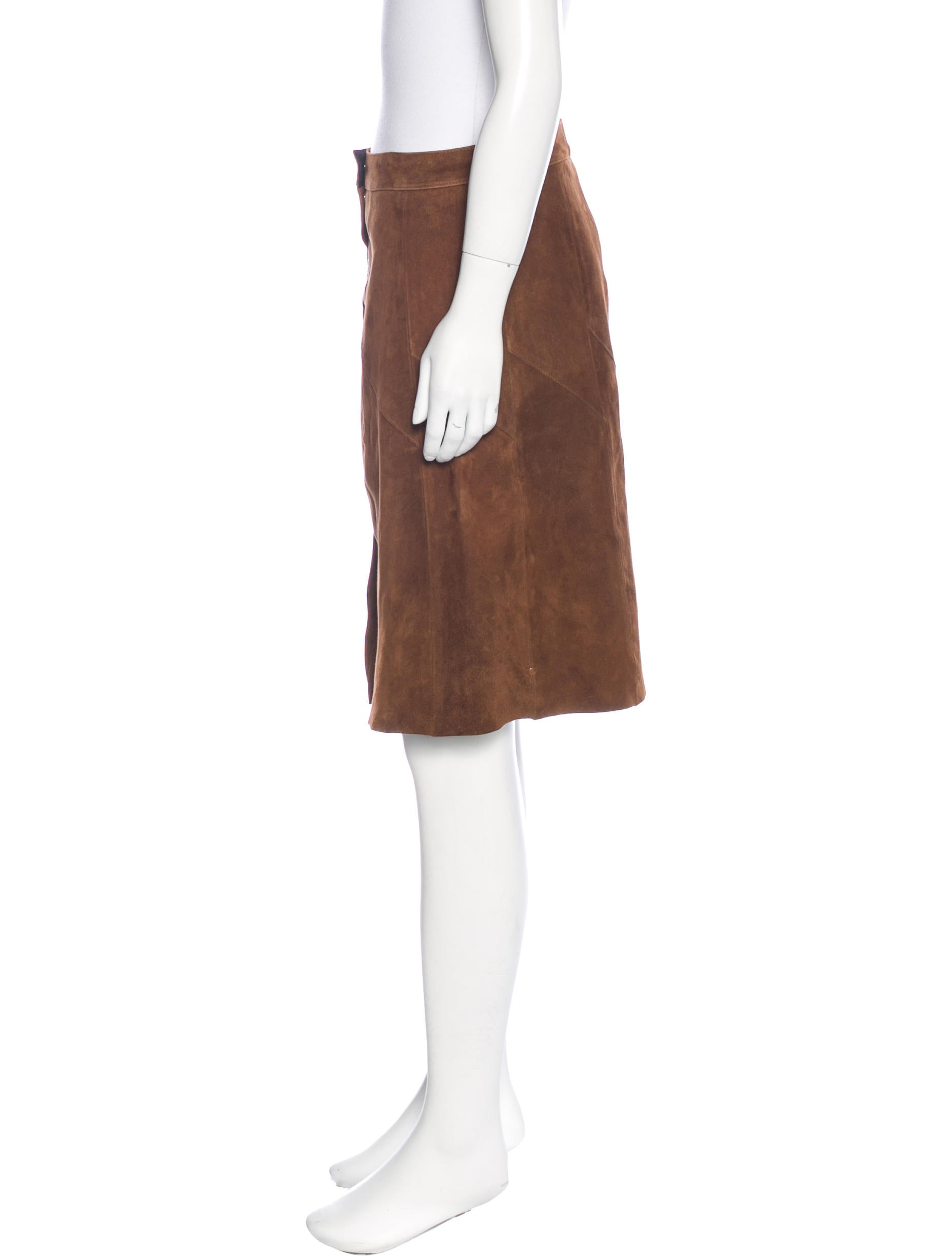 a l c suede a line skirt w tags clothing wa433428
