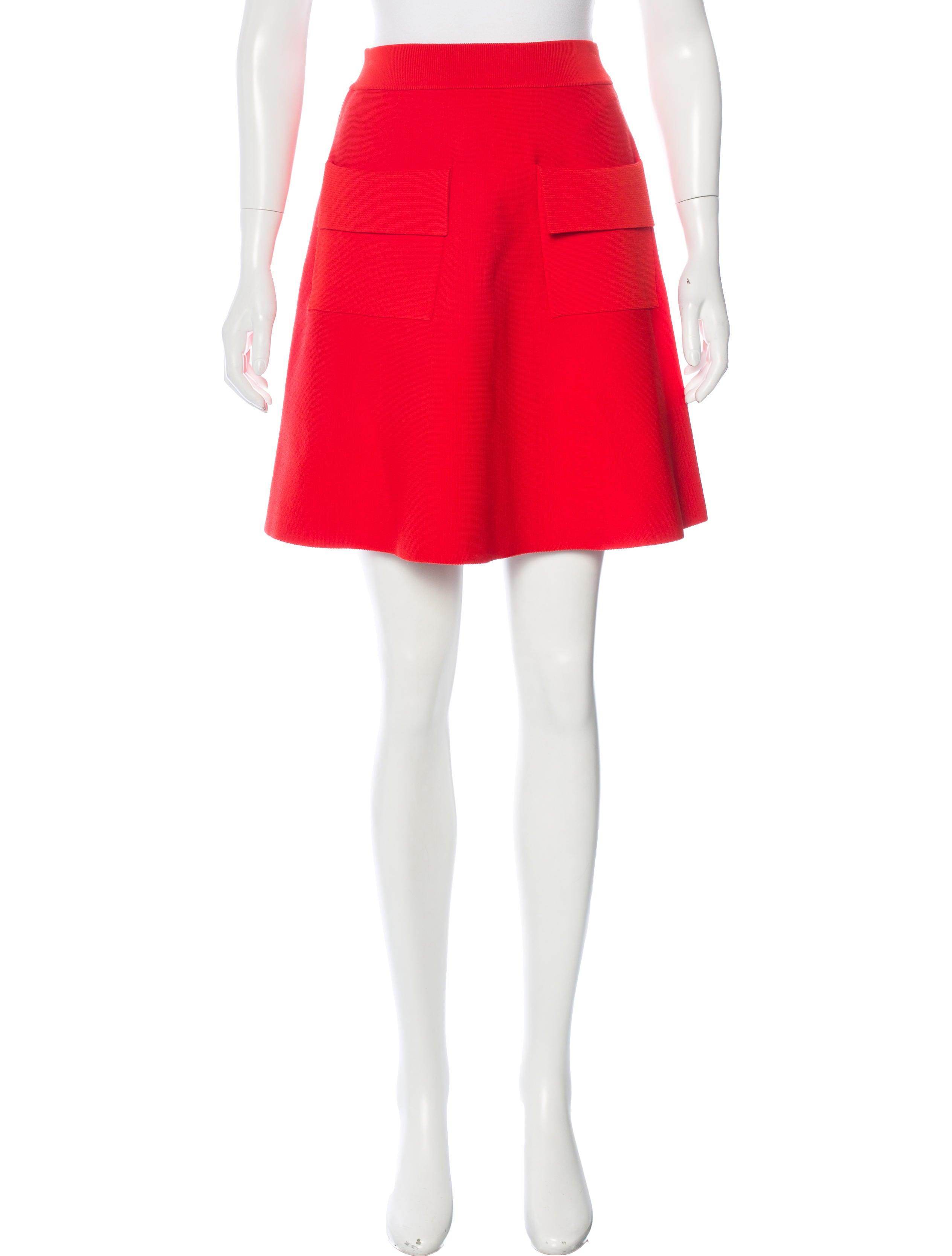 a l c knee length a line skirt clothing wa433511