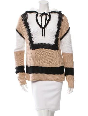 A.L.C. Colorblock Rib Knit Sweater None
