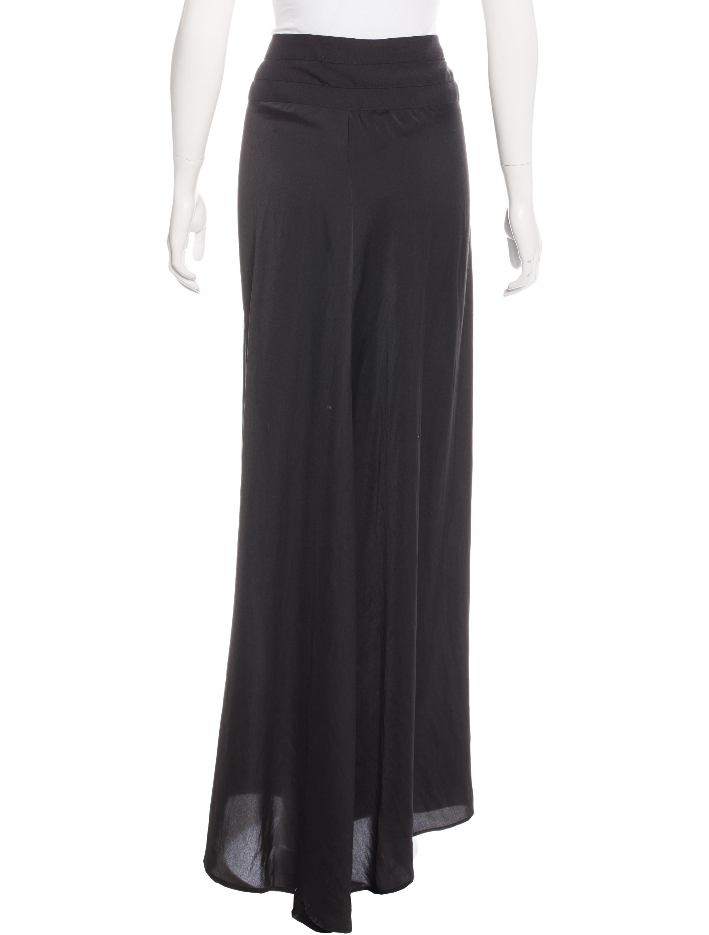 a l c sheer maxi skirt clothing wa433799 the realreal
