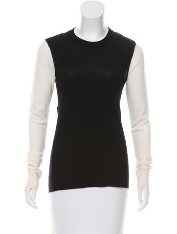 A.L.C. Colorblock Wool Sweater None
