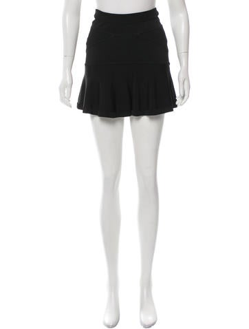 A.L.C. Knit Mini Skirt None