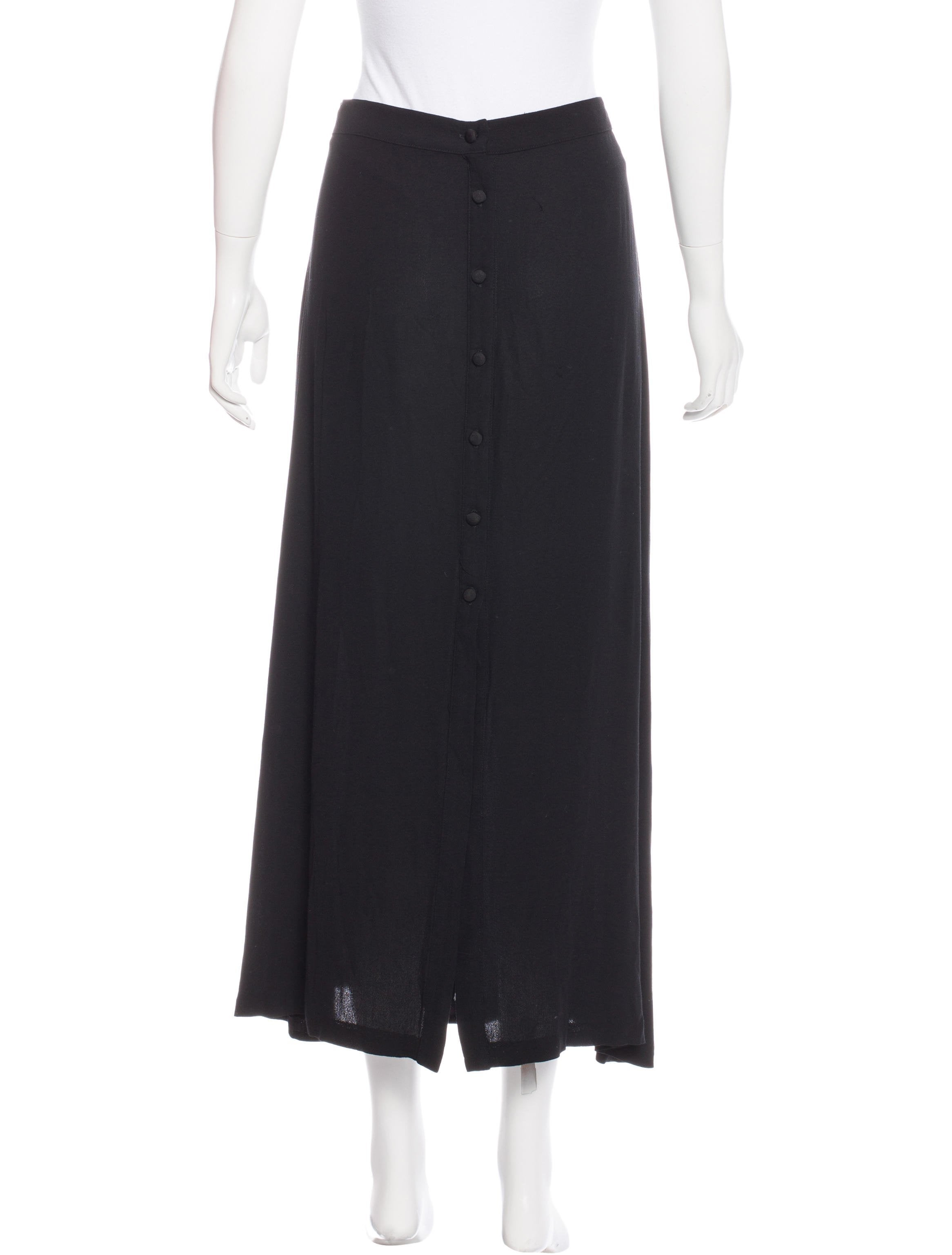 a l c button up maxi skirt clothing wa434067 the