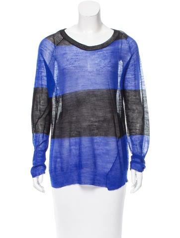 A.L.C. Striped Wool Sweater w/ Tags None