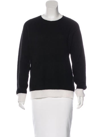 A.L.C. Wool-Blend Long Sleeve Sweater None