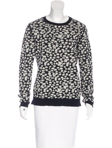A.L.C. Wool Patterned Sweater None
