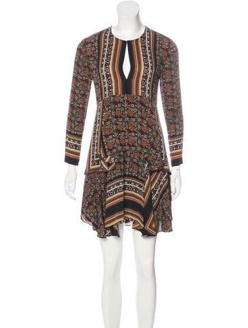 A.L.C. Silk A-Line Dress None