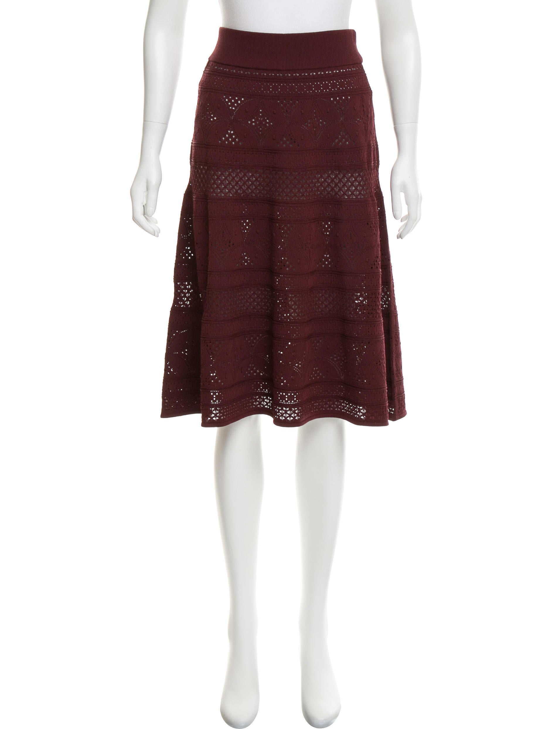 a l c knit knee length skirt w tags clothing
