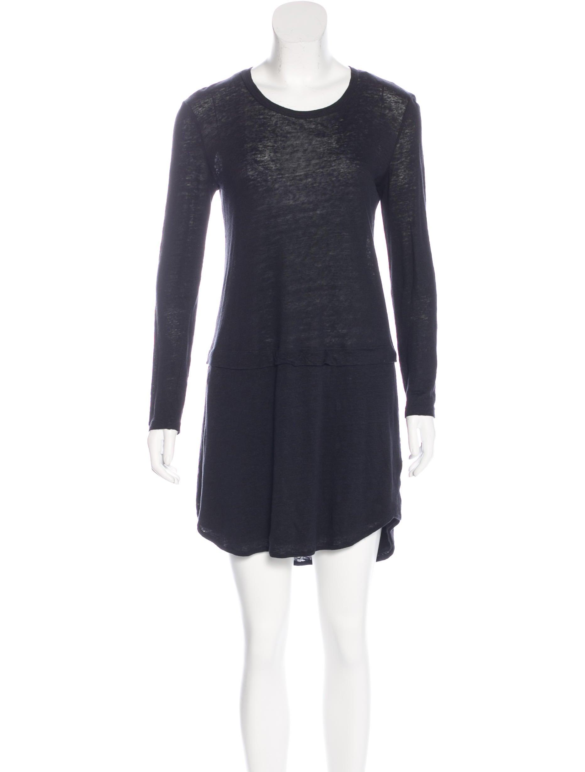 A L C Lightweight Long Sleeve Dress Clothing Wa435483