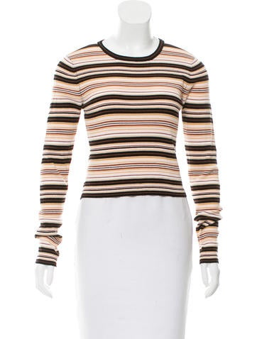A.L.C. Striped Wool Top w/ Tags None