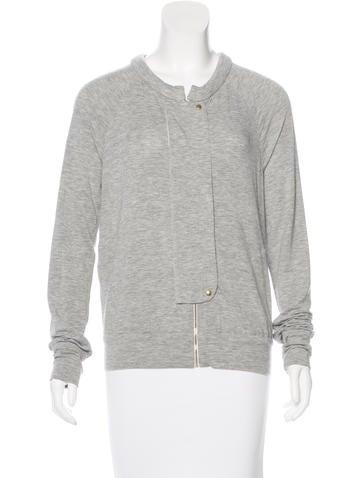 A.L.C. Mélange Zip-Up Jacket None
