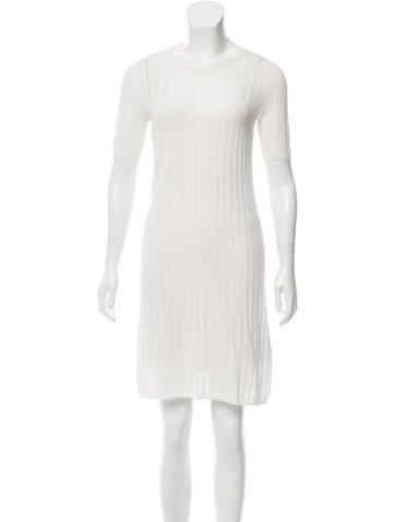 A.L.C. Open Knit Mini Dress w/ Tags None