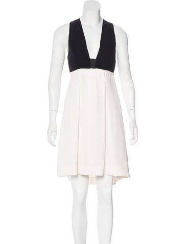 A.L.C. Silk Cutout Dress None