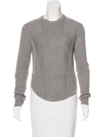 A.L.C. Wool Rib Knit Sweater None