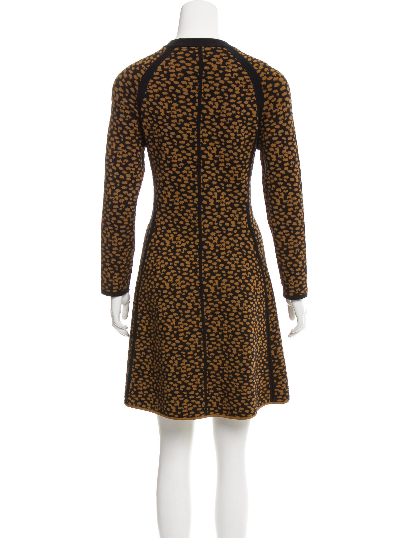 A.L.C. Jacquard Sweater Dress - Clothing