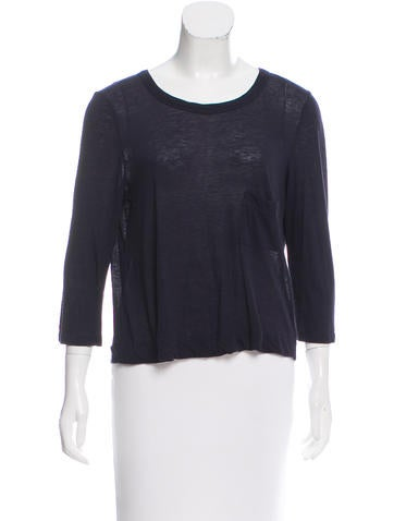 A.L.C. Wool Blend Long Sleeve Top None