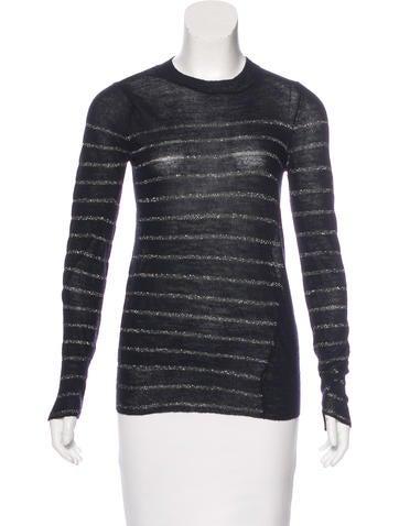 A.L.C. Wool Striped Sweater None