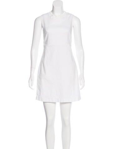A.L.C. Sleeveless Mini Dress None