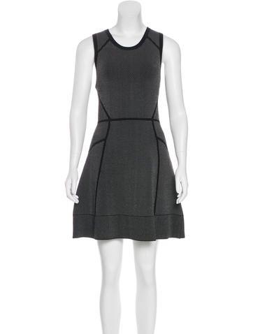 A.L.C. Knit Mini Dress None