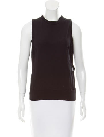 A.L.C. Cutout Knit Top None