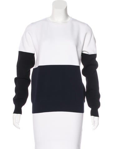 A.L.C. Colorblock Long Sleeve Sweater None