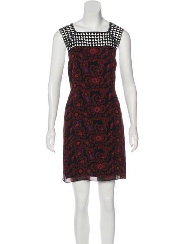 A.L.C. Silk Mini Dress None
