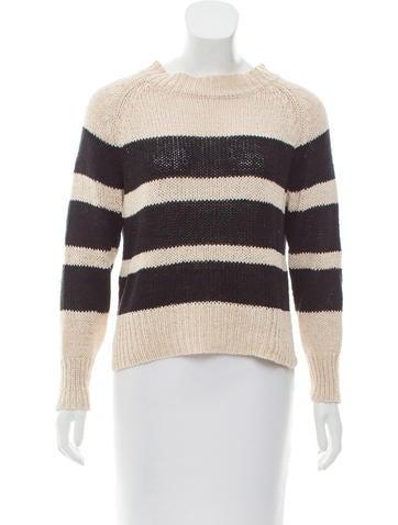 A.L.C. Striped Knit Sweater None