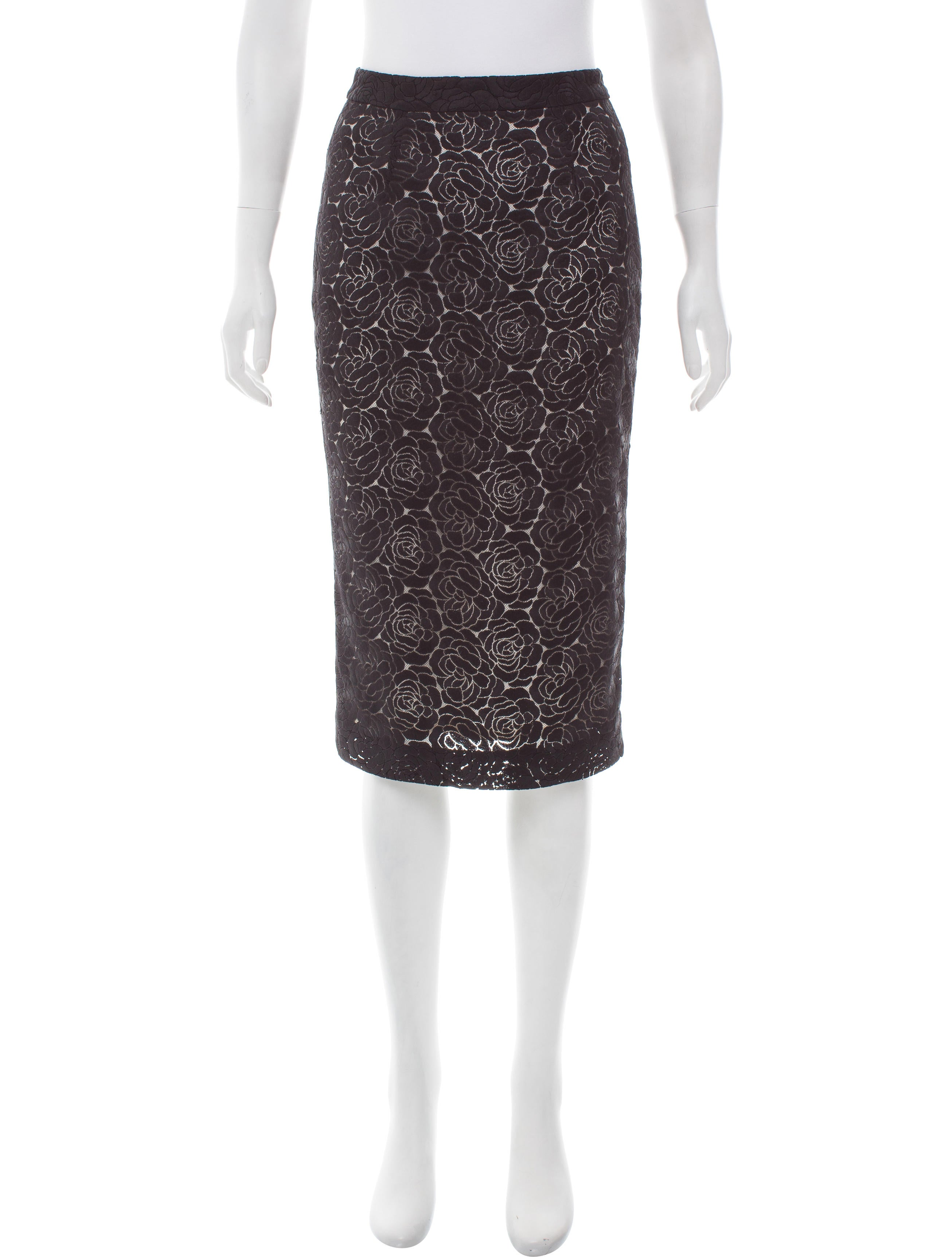 a l c lace pencil skirt clothing wa438139 the realreal