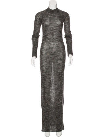 A.L.C. Turtleneck Maxi Dress None