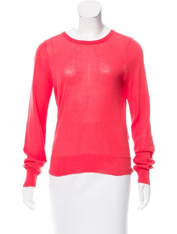 A.L.C. Knit Cutout Top None