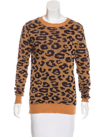 A.L.C. Wool Printed Sweater None