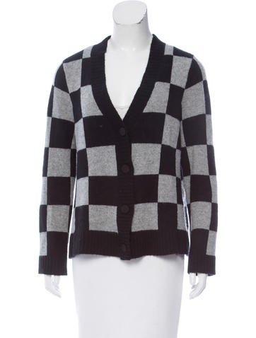 A.L.C. Patterned Cardigan None