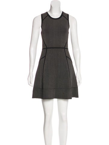 A.L.C. Knit Mini Dress None