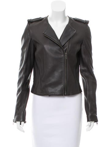 A.L.C. Leather Structured Jacket w/ Tags None