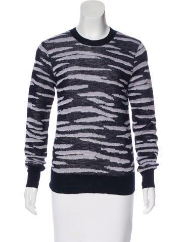 A.L.C. Wool Knit Sweatshirt None