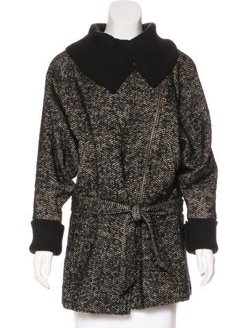 A.L.C. Wool-Blend Short Coat None