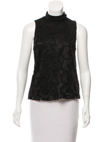 A.L.C. Embroidered Sleeveless Top w/ Tags None