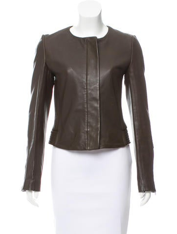 A.L.C. Casual Leather Jacket None