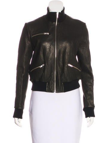 A.L.C. Jordyn Leather Jacket w/ Tags None